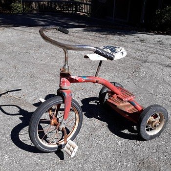 Vintage Murry Two Step Tricycle - Toys