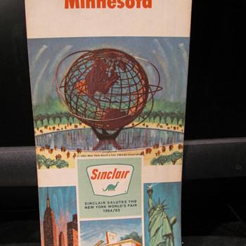 1964 Minnesota Sinclair Map