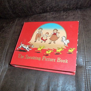 "Vintage Children's Book, ""The Speaking Picture Book"" - Books"