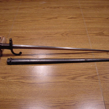 French Bayonet - Military and Wartime