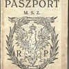 1927 Polish service passprot