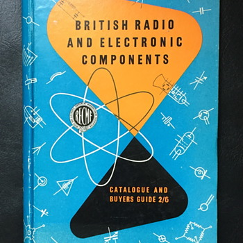 British radio and components catalogue guide. - Books