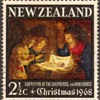 "1968 - New Zealand ""Christmas"" Postage Stamp"