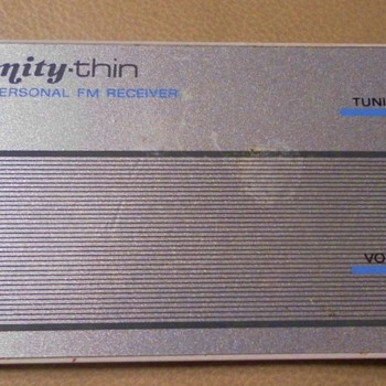CREDIT CARD RADIO - Electronics