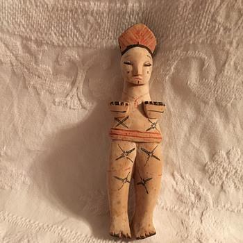 Unknown Wooden Doll - Dolls
