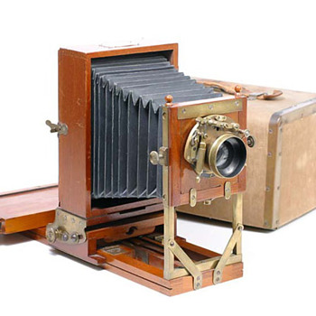 Anthony Novelette Field Camera: 1880s - Cameras
