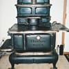 Kitchen wood cook stove