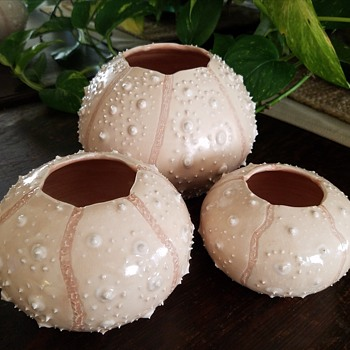Sea Urchin Vases - Pottery