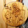 land of oz wall plaque