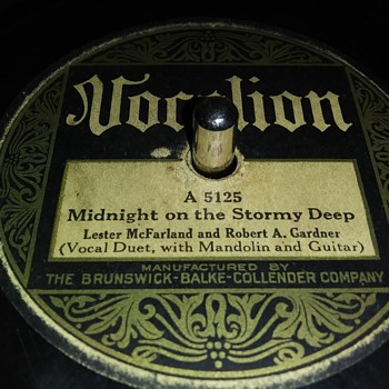 "10"" SHELLAC DISC....#15 - Records"