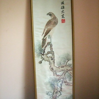Chinese art - not painted - Asian