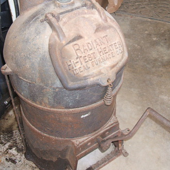 Old Cast Iron Furnace