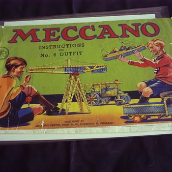 MECCANO 1938 BOOKLET - Paper