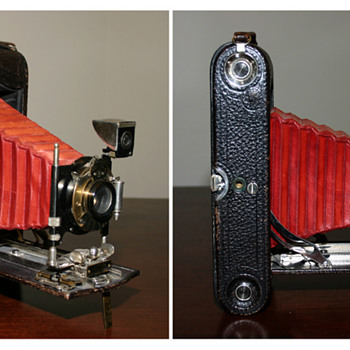 Questions about this Kodak camera from the early 1900s - Cameras