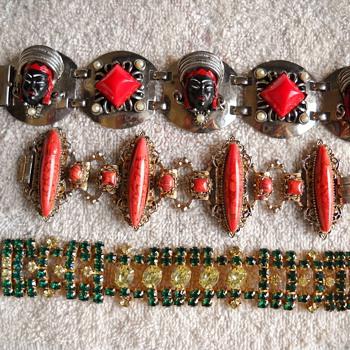 SELRO BRACELET & 2 OTHER FAVORITES - Costume Jewelry