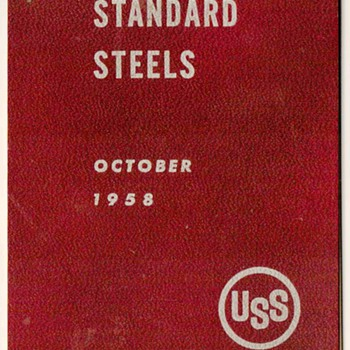 1958 - United States Steel Grading Booklet - Paper
