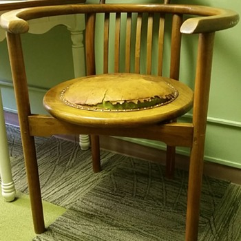 Barrel Chair?