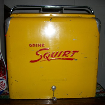 1950's Progress Refrigerator Co. Squirt Cooler - Advertising