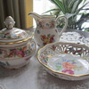 Schumann Creamer, Sugar Bowl and small Dish