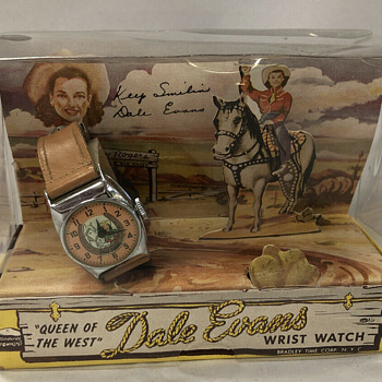 Roy Rogers and Dale Evans 1950s watches and jewelry sets - Toys