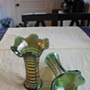 Palm Glass Vase Set
