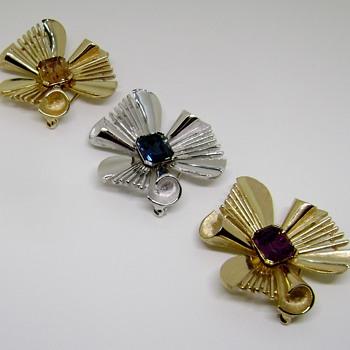 Trifari Atomic Starburst - Costume Jewelry