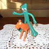 vintage gumby and his horse