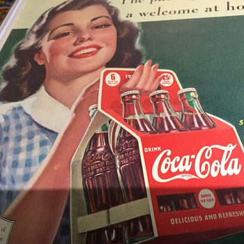 The Coke lady and Me  - Advertising