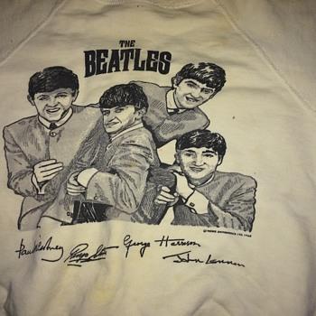 1963 Beatles Sweatshirt - Music Memorabilia