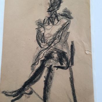 Laura Lengyel Drawing - Fine Art