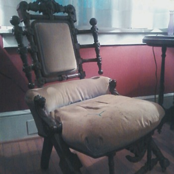 Anyone know about this odd chair? - Furniture