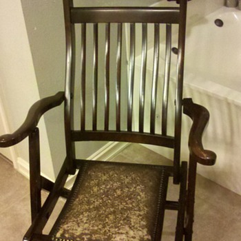 My favorite wooden folding chair  - Furniture