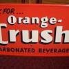 Original Orange Crush Soda Sign