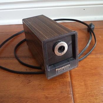 Vintage Panasonic Electric Pencil Sharpener
