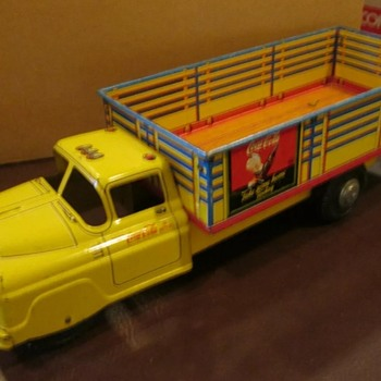 1950's Coca Cola  Marx tin toy truck - Coca-Cola
