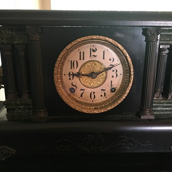 E. N. Welch Mfg. Mantel Clock - Clocks