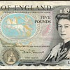 England - (5) Pounds Bank Note
