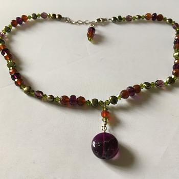 Vintage necklace  - Costume Jewelry