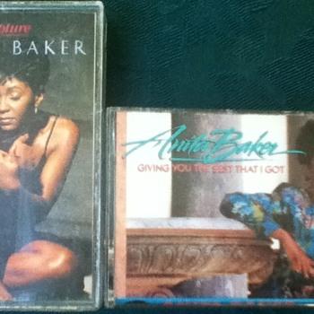 Anita Baker Cassette Tapes - Records