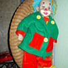 'Payasete' Clown doll by Arias