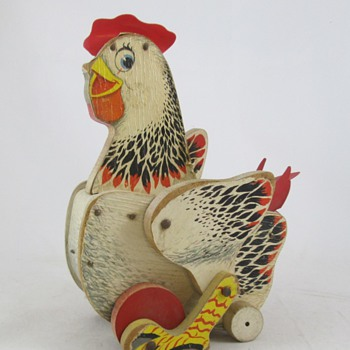 Cackling Hen by Fisher Price #120 - Toys