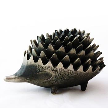 Fake Walter Bosse hedgehog ashtray (Russian -soviet- version) - Mid-Century Modern