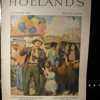 1924 Holland's Magazine - Paper