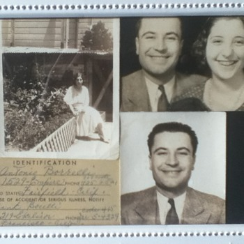 1930s Family Collage - Photographs