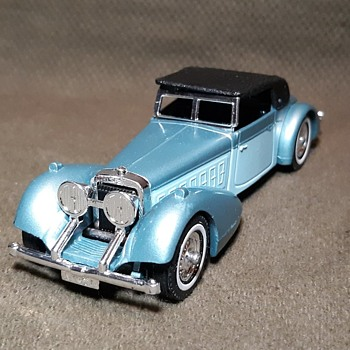 Manly Muy Materialistic Matchbox Monday Model of Yesteryear Y-17 1938 Hispano-Suiza 1980 - Model Cars