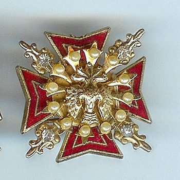 Help With Coro Cruciform Pins Please. WWII? - Costume Jewelry