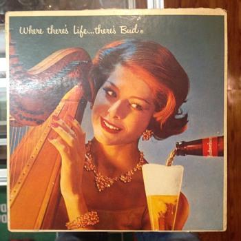 Budweiser record  - Breweriana
