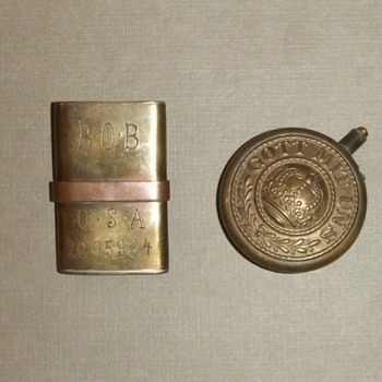 WW1 Trench Art Lighters - Military and Wartime