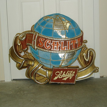 Schlitz beer sign - Signs