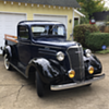 1937 Chevrolet pickup truck